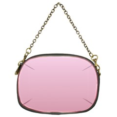 Pink Lace To Puce Gradient Chain Purse (two Side)