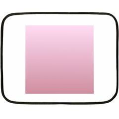 Pink Lace To Puce Gradient Mini Fleece Blanket (two Sided)
