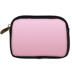 Pink Lace To Puce Gradient Digital Camera Leather Case