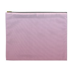 Pink Lace To Puce Gradient Cosmetic Bag (xl)
