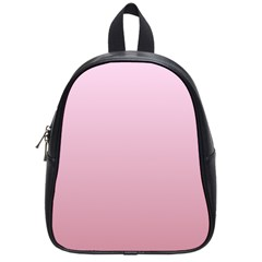 Pink Lace To Puce Gradient School Bag (small)
