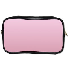 Pink Lace To Puce Gradient Travel Toiletry Bag (One Side)