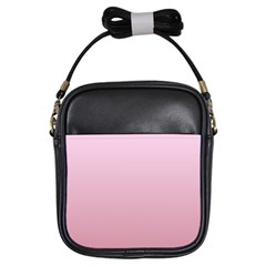 Pink Lace To Puce Gradient Girl s Sling Bag