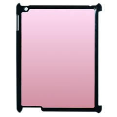 Pink Lace To Puce Gradient Apple Ipad 2 Case (black)