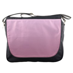 Pink Lace To Puce Gradient Messenger Bag