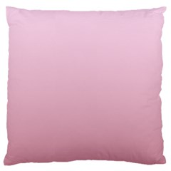 Pink Lace To Puce Gradient Large Cushion Case (one Side)