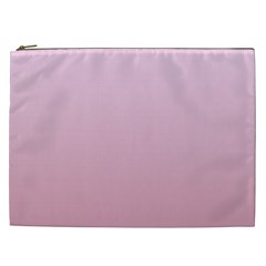 Pink Lace To Puce Gradient Cosmetic Bag (XXL)