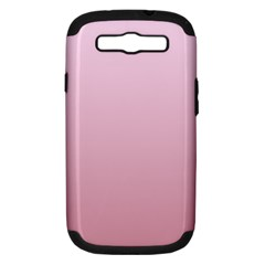 Pink Lace To Puce Gradient Samsung Galaxy S Iii Hardshell Case (pc+silicone)