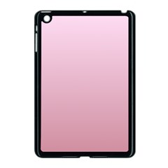 Pink Lace To Puce Gradient Apple iPad Mini Case (Black)