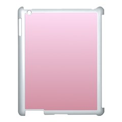 Pink Lace To Puce Gradient Apple Ipad 3/4 Case (white)