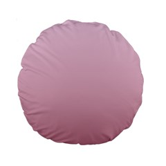 Pink Lace To Puce Gradient 15  Premium Round Cushion