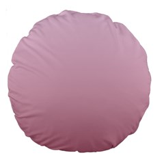 Pink Lace To Puce Gradient 18  Premium Round Cushion