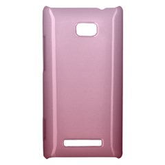 Pink Lace To Puce Gradient HTC 8X Hardshell Case