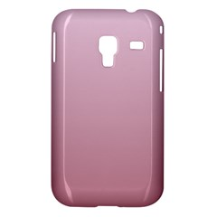 Pink Lace To Puce Gradient Samsung Galaxy Ace Plus S7500 Case