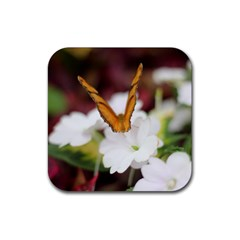 Butterfly 159 Drink Coaster (Square)