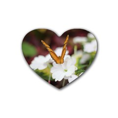 Butterfly 159 Drink Coasters 4 Pack (heart)
