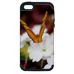 Butterfly 159 Apple iPhone 5 Hardshell Case (PC+Silicone)