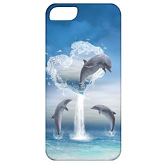 The Heart Of The Dolphins Apple iPhone 5 Classic Hardshell Case