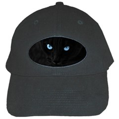 Black Cat Black Baseball Cap
