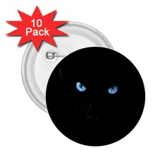 Black Cat 2.25  Button (10 pack)