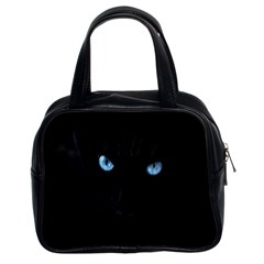 Black Cat Classic Handbag (two Sides)