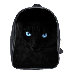 Black Cat School Bag (Large)