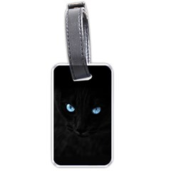 Black Cat Luggage Tag (Two Sides)