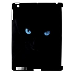 Black Cat Apple Ipad 3/4 Hardshell Case (compatible With Smart Cover)