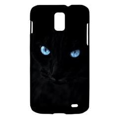 Black Cat Samsung Galaxy S II Skyrocket Hardshell Case