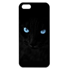Black Cat Apple iPhone 5 Seamless Case (Black)