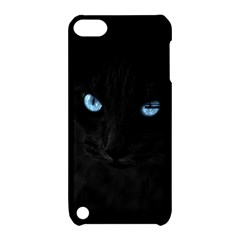 Black Cat Apple iPod Touch 5 Hardshell Case with Stand