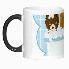Dogs in Bath Morph Mug