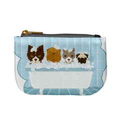 Dogs In Bath Coin Change Purse