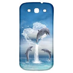 The Heart Of The Dolphins Samsung Galaxy S3 S III Classic Hardshell Back Case