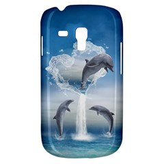 The Heart Of The Dolphins Samsung Galaxy S3 MINI I8190 Hardshell Case