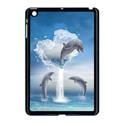 The Heart Of The Dolphins Apple iPad Mini Case (Black)
