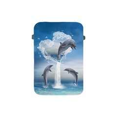 The Heart Of The Dolphins Apple iPad Mini Protective Soft Case