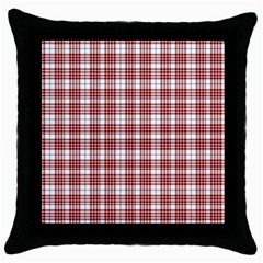 Buchanan Tartan Black Throw Pillow Case