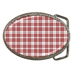 Buchanan Tartan Belt Buckle (Oval)