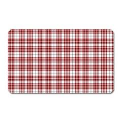 Buchanan Tartan Magnet (rectangular)