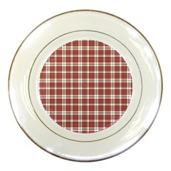 Buchanan Tartan Porcelain Display Plate