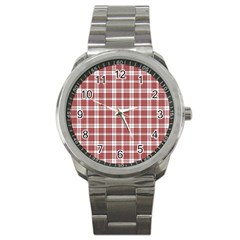 Buchanan Tartan Sport Metal Watch