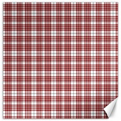 Buchanan Tartan Canvas 20  X 20  (unframed)