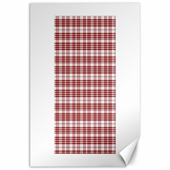 Buchanan Tartan Canvas 24  x 36  (Unframed)