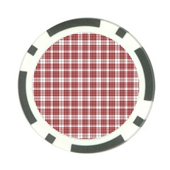 Buchanan Tartan Poker Chip