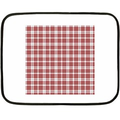 Buchanan Tartan Mini Fleece Blanket (two Sided)