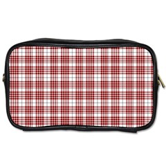 Buchanan Tartan Travel Toiletry Bag (Two Sides)