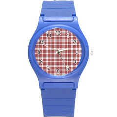 Buchanan Tartan Plastic Sport Watch (small)