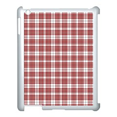 Buchanan Tartan Apple iPad 3/4 Case (White)