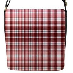 Buchanan Tartan Flap Closure Messenger Bag (small)